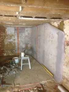 Basement conversion in Walton-on-the-Naze, Essex