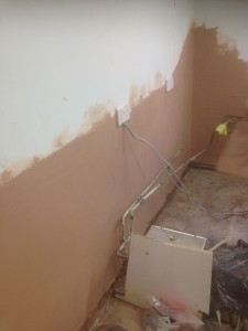 Rising damp treatment to a Dentist Practise in Brentwood Essex